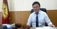 Директор Государственного учреждения Унаа при ГРС КР Алымжан Козубаев. Архивное фото