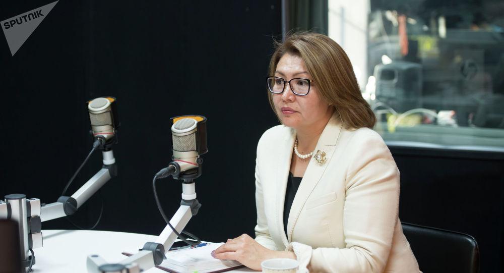 Кыргызстандын вице-премьер-министри Алтынай Өмүрбекова