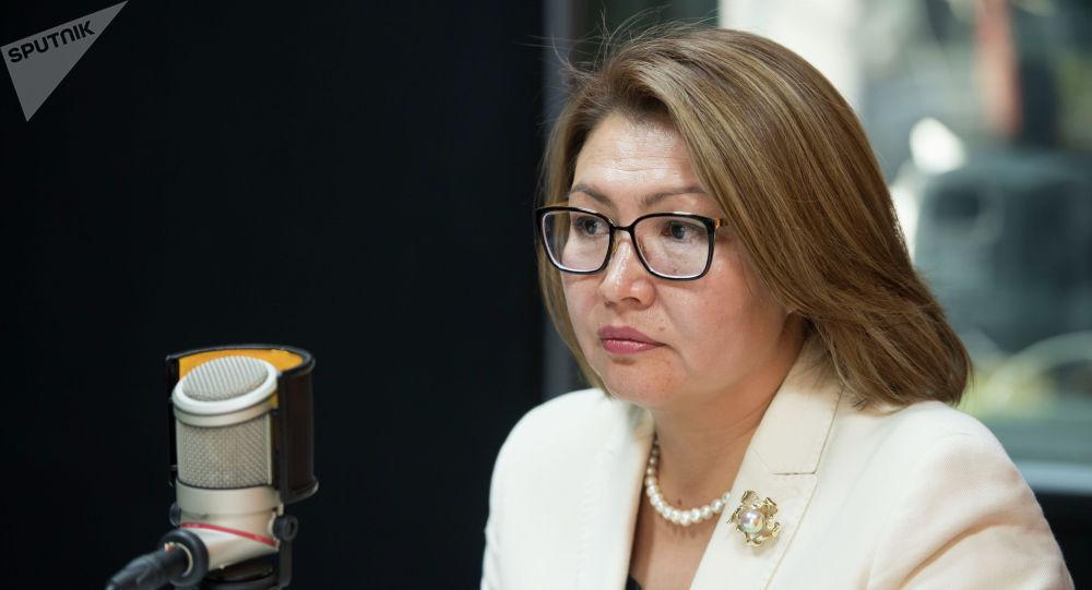 Кыргыз Республикасынын Вице-премьер-министри Алтынай Омурбекова