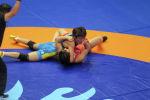 Айсулуу Тыныбекова  на чемпионате мира по борьбе. Архивное фото