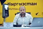 Руководитель компании ВРС AG Арсен Кондахчан во время пресс-конференции в Sputnik. Архивное фото