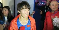 Кыргызстандык балбан кыз Айсулуу Тыныбекова финалдык беттеште болгариялык Тайбе Юсейнди 5:3 эсебинде утуп алды.