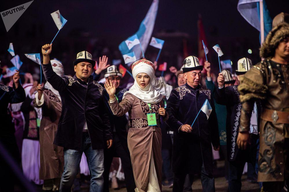 Биринчи Улуттук көчмөндөр оюндары Талас облусунда өттү