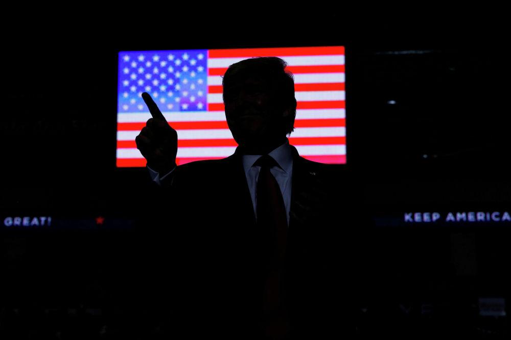 АКШ президенти Дональд Трамп Нью-Мексико штатынын жарандары менен жолугушуу маалында
