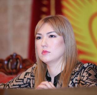 Экс-депутат Жогорку Кенеша от партии Ата Мекен Ширин Айтматова