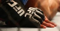 Бойцы UFC во время поединка. Архивное фото