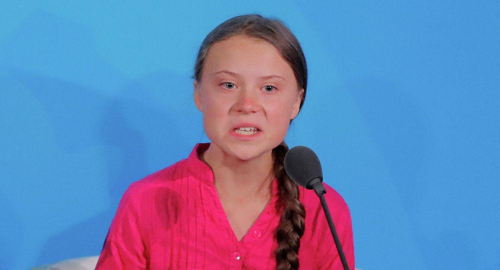 Швециялык экоактивистка Грета Тунберг