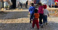 Сириядагы качкындар лагери. Архивдик сүрөт