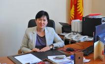 Кандидат на пост министра труда и социального развития Кыргызстана Ализа Солтонбекова. Архивное фото