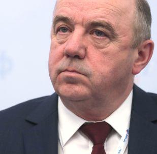 Министр технического регулирования Евразийской экономической комиссии Виктор Назаренко. Архивное фото
