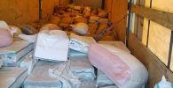 ЕАЭБдин бажы аймагына мыйзамсыз ташылып келе жаткан 2 892 720 сомдук кургатылган жемиштердин түрү жана жаңгактар бажы кызматкерлери тарабынан кармалды