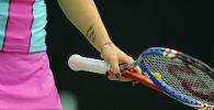Теннисистка. Архивное фото
