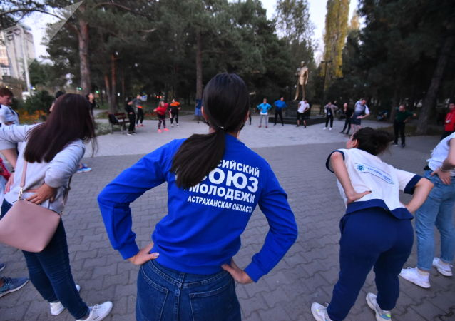 Открытая тренировка для молодых лидеров ЕАЭС в рамках международно-выставочного форума Евразийская неделя — 2019 в Бишкеке