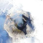 Кратер вулкана Вильяррика в Чили