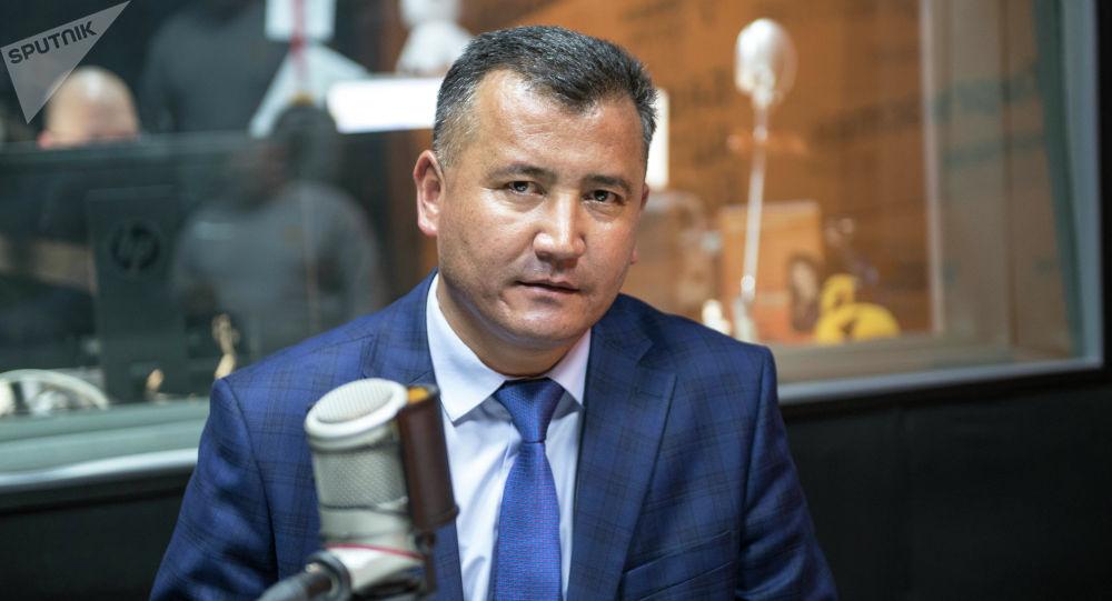 Заместитель директора Департамента развития питьевого водоснабжения и водоотведения Сайпидин Момунов
