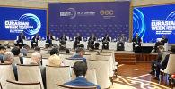 В Бишкеке прошел крупнейший деловой форум ЕАЭС — Евразийская неделя. Кротко о самых важных и интересных мероприятиях — в нашем видео.