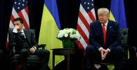 Встреча президентов США и Украины Дональда Трампа и Владимира Зеленского в Нью-Йорке. Архивное фото