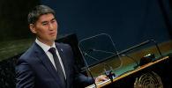 Выступление министра иностранных дел Кыргызстана Чингиза Айдарбекова на 74-й сессии Генеральной Ассамблее ООН. 28 сентября