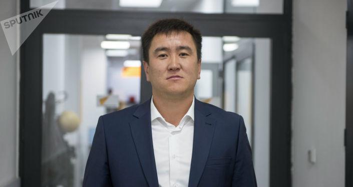 Руководитель аппарата Октябрьского административного района Азамат Дороев