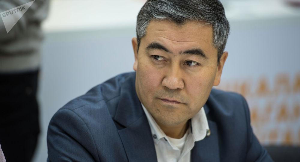 Эксперт в области образования Кенешбек Сайназаров. Архивное фото