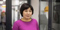 Эмгек жана социалдык өнүктүрүү министрлигинин өкүлү Кульира Кубатова