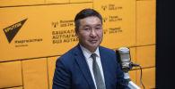 Начальник управления по работе с общественностью Социального фонда КР Женишбек Мукамбетов