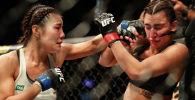 Австралиялык мушкер Надя Кассим UFC уюмунун алкагындагы беттеште арамзалана коём деп каршылашынан муш жеди.