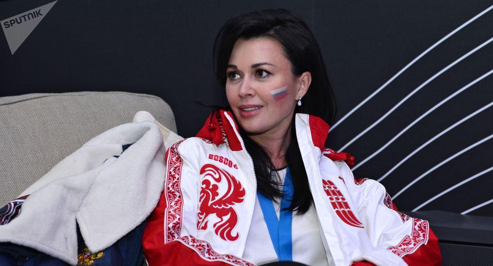 Российская актриса Анастасия Заворотнюк. Архивное фото