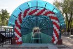Торжественное открытие подземного перехода в Джалал-Абаде