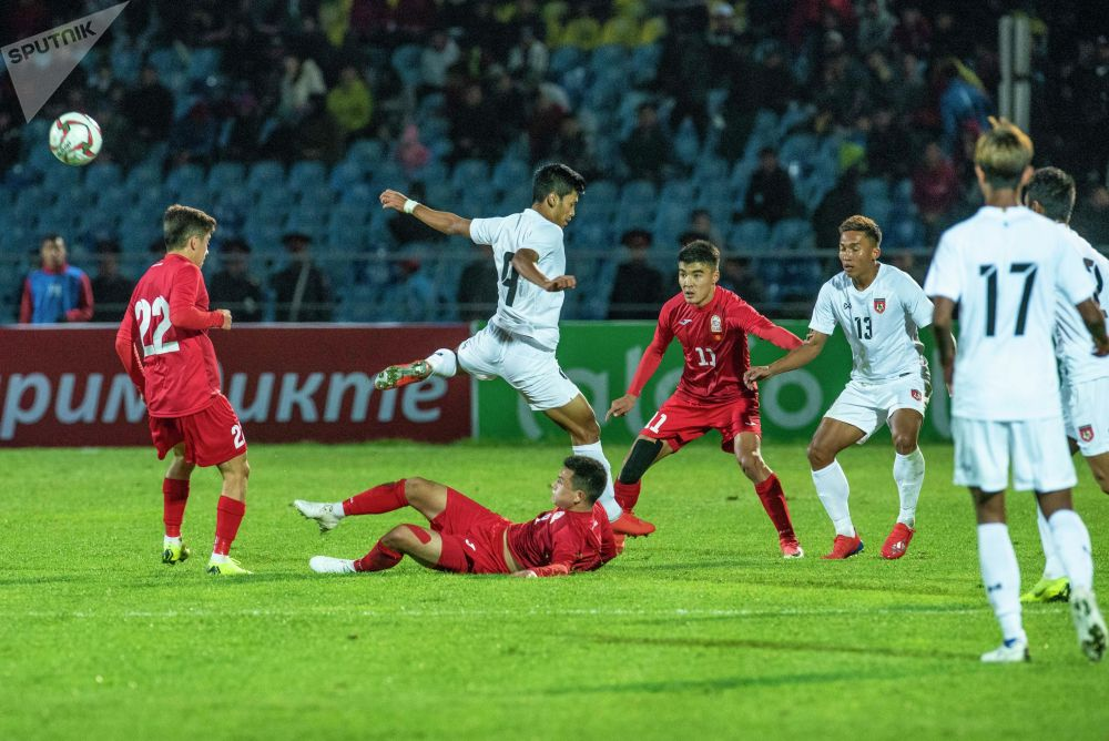 Сборная Мьянмы в трех последних матчах против кыргызстанцев пропустила 14 мячей и забила три