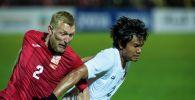 Футбольный матч Кыргызстан — Мьянма в рамках отборочного раунда ЧМ-2022. Архивное фото