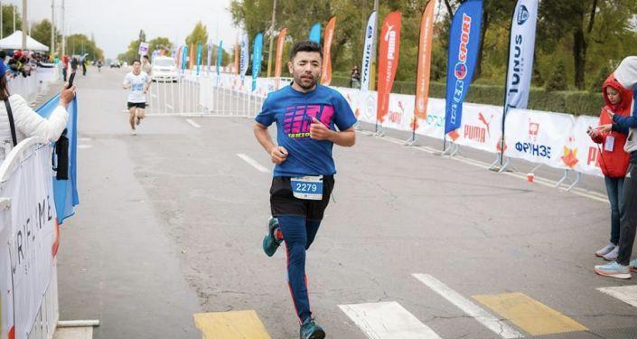 Кыргызстандык триатлончу Жалалдин Абдувалиев