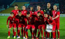Сборная Кыргызстана по футболу перед матчем