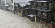 Последствия тайфуна Хагибис в Японии. 12 октября 2019 года