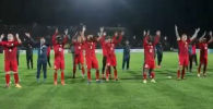 Федерация футбола КР представила видео с прошедшего 10 октября в Бишкеке матча Кыргызстан — Мьянма. Напомним, игра завершилась со счетом 7:0 в пользу отечественной команды.