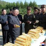 Лидер КНДР Ким Чен Ын на сельскохозяйственной ферме в одной из воинских частей