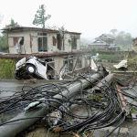39 человек стали жертвами обширных наводнений и оползней, вызванных тайфуном Хагибис в Японии. Еще 17 числятся пропавшими без вести. Травмы получили 189 человек. По данным телеканала NHK, около 136 тысяч жилищ в Японии остаются без водоснабжения и 4,3 тысячи - без электричества.