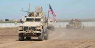 США и турецкие вооруженные силы проводят совместное наземное патрулирование на северо-востоке Сирии, 8 сентября 2019 года