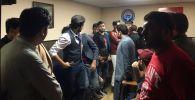 Бишкек шаардык милиция бөлүмүнө 30дан ашык чет элдик студент алып келингенин Октябрь РИИБдин маалымат кызматы билдирди