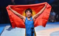 Кыргызстанский борец, чемпионка мира Айсулуу Тыныбекова. Архивное фото
