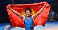 Кыргызстандын спортчу Айсулуу Тыныбекова. Архив