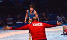 Кыргызстанская спортсменка Айсулуу Тыныбекова. Архивное фото