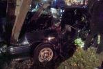 Авария случилась на пересечении проспекта Чуй и улицы Достоевского в ночь на 16 октября в Бишкеке.