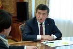 Президент Сооронбай Жээнбеков бүгүн, 16-октябрь күнү, Борбордук шайлоо комиссиясынын төрайымы Нуржан Шайлдабекованы кабыл алды