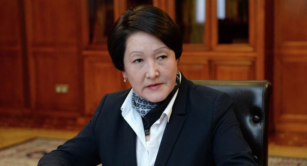 Председатель Центральной комиссии по выборам и проведению референдумов Нуржан Шайлдабекова. Архивное фото