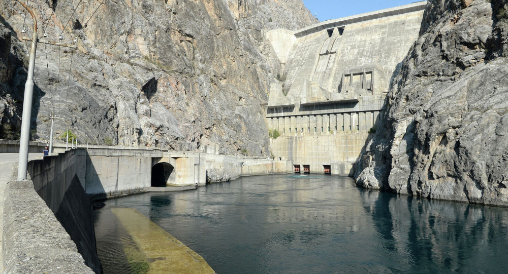 Токтогульское водохранилище. Архивное фото