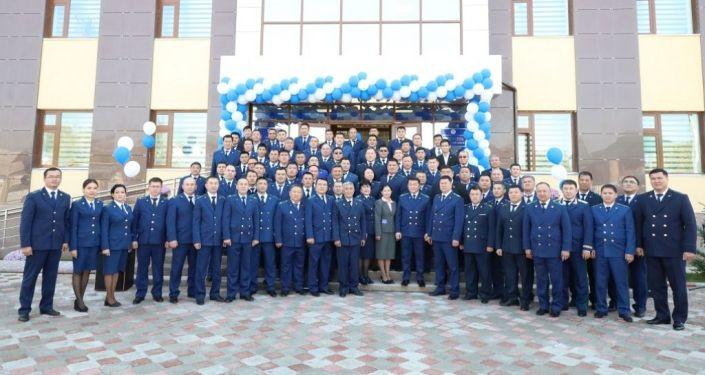 Состоялось торжественное открытие нового 3-х этажного здания прокуратуры Жалал-Абадской области. 18 октября 2019 года