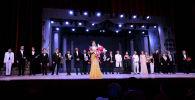 Участники международного конкурса Среднеазиатская романсиада в Бишкеке. Архивное фото