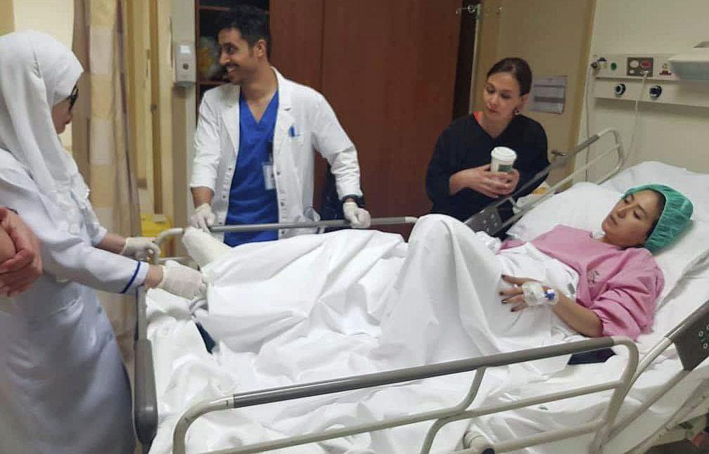 Асланайым Аширова находится под пристальным вниманием врачей в больнице Саудовской Аравии