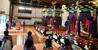 Церемония интронизации (восшествия на престол) императора Японии Нарухито